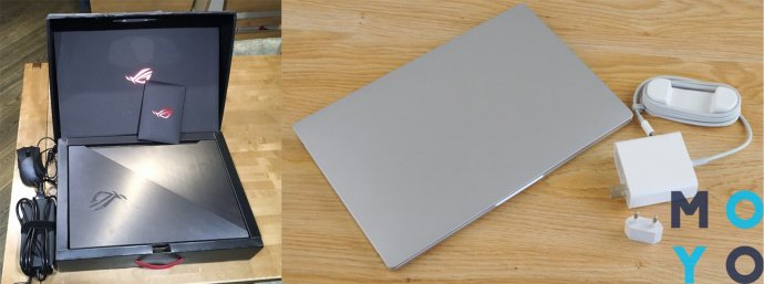 комплектация ноутбука