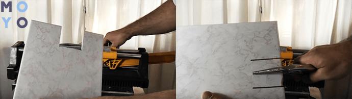 резать плитку фигуристо