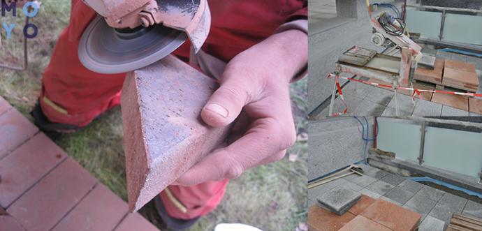 чем резать цементную плитку