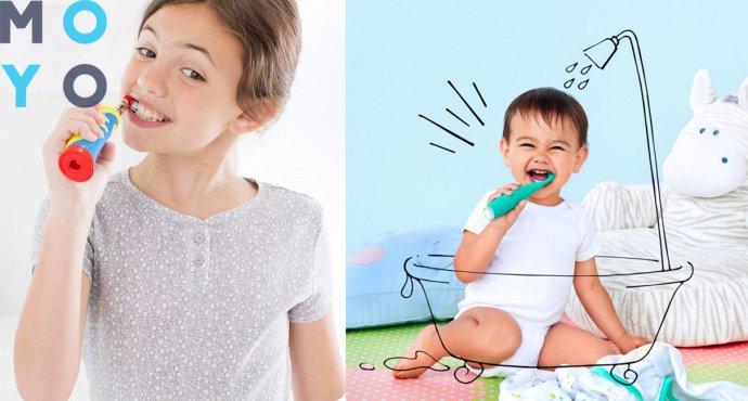 выбор детской зубной щетки