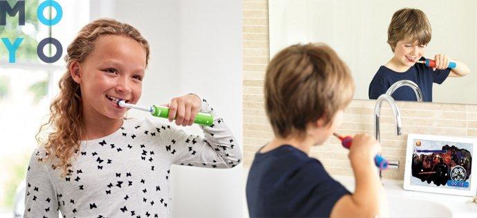 необычная чистка зубов