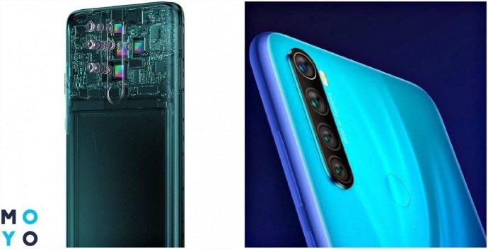 Камеры Xiaomi Redmi Note 8 Pro и Xiaomi Redmi Note 8T