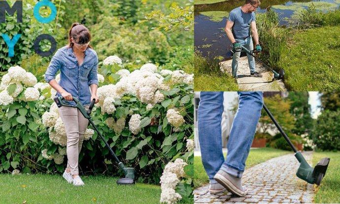 Аккумуляторный садовый триммер Bosch EasyGrassCut 18-230