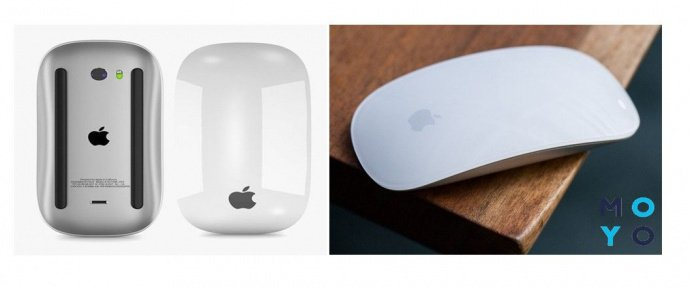 Apple A1657 Wireless Magic Mouse 2