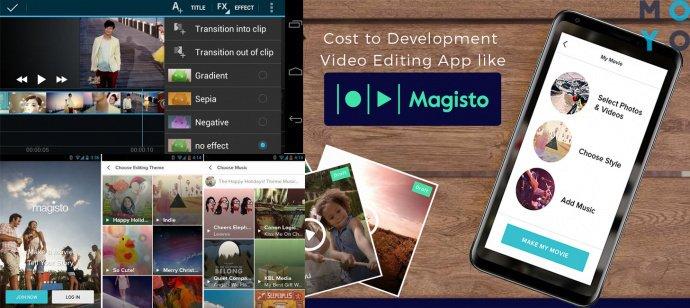 приложение Magisto