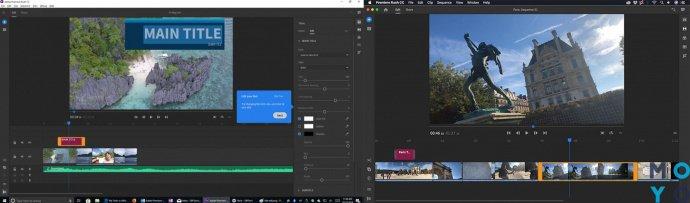 видеоредактор Adobe Premiere Rush