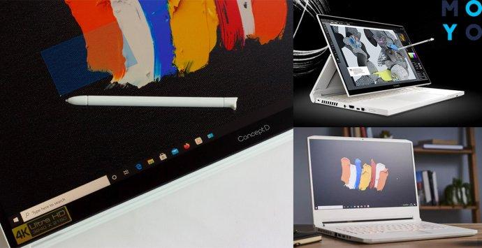 обзор ноутбука Acer ConceptD 7 CC715-71P