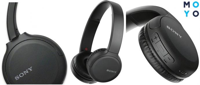 Внешний вид наушников Sony WH-CH510