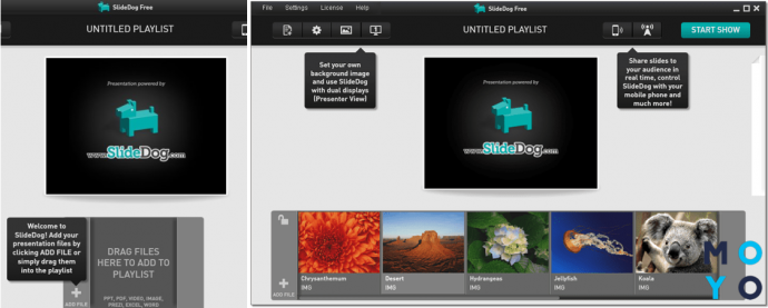 Программа для создания презентации SlideDog
