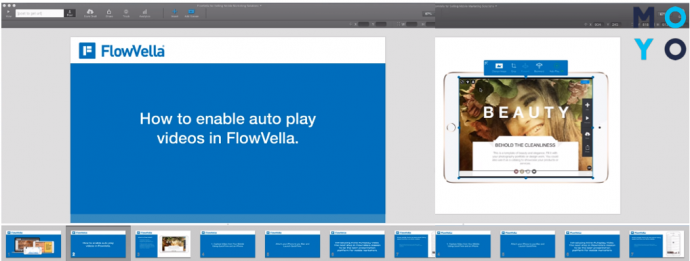 Программа для создания презентации FlowVella