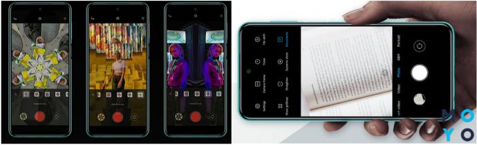 Режим «Калейдоскоп» и «Документ» в Xiaomi Redmi Note 9 Pro