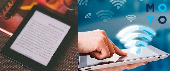 Загрузка книг через Wi-Fi