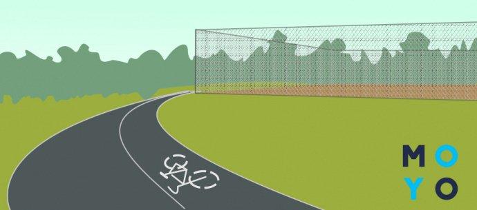 Дорожки, на которых лучше всего кататься на велосипеде