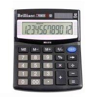 Калькулятор Brilliant BS-212 12 разрядов (BS-212)