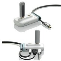 Сетевое оборудование Belkin Концентратор Plus White (4 порта)
