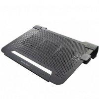 Підставка для ноутбука Cooler Master Notepal U3, алюмінієва + гумові вставки, 3x80мм fan, чорна (R9-NBC-8PCK-GP)