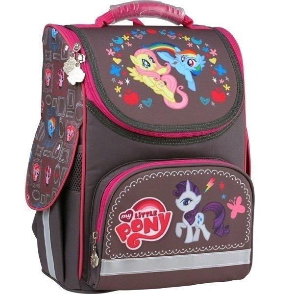 57f30bcc98bf Рюкзак школьный каркасный 501 Little Pony-1 (LP15-501-1S) фото