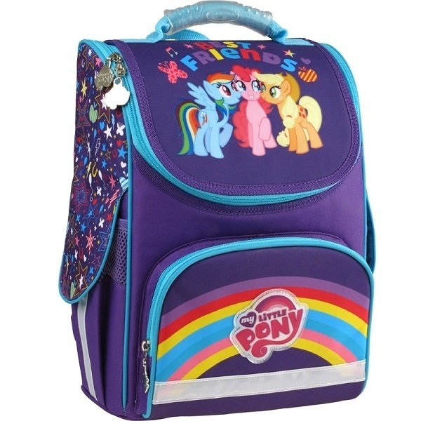 841fa710c362 Рюкзак школьный каркасный 501 Little Pony-2 (LP15-501-2S) фото
