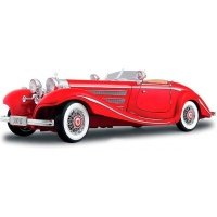 Автомодель MAISTO 1:18 Mercedes 500 K Typ Specialroadster (36862 red)