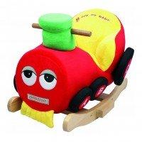 """Детское кресло-качалка ROCK MY BABY """"Поезд"""" (JR2555)"""