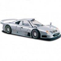 Автомодель MAISTO 1:26 Mercedes CLK-GTR street version (31949 silver)