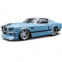 Автомодель MAISTO 1:24 на р/у Ford Mustang GT (81061-A blue)