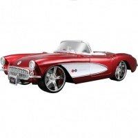 Автомодель MAISTO 1:24 Chevrolet Corvette-тюнинг (31323 met. red)