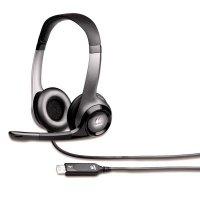 Компьютерная гарнитура Logitech ClearChat Pro Stereo USB (981-000011)