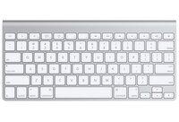 Клавиатура Apple A1314 Wireless Keyboard (aluminium)