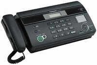 Факс Panasonic KX-FT 982 UA-B Black (термобумага)