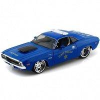 Автомодель MAISTO 1:24 Dodge Challenger R/T Coupe (31129 blue)