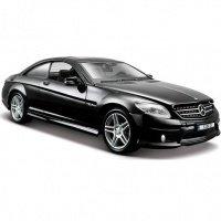 Автомодель MAISTO 1:24 Mercedes-Benz CL63 AMG (31297 met. black)
