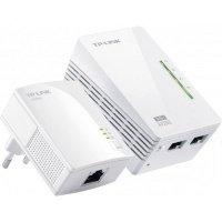 Powerline-адаптер TP-LINK TL-WPA2220KIT, 200Мбит/с, WiFi 802.11n