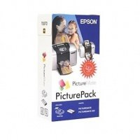 Картридж Фото сублимационный EPSON PicturePack for PictureMate, 135л (C13T557040BD)