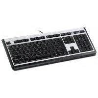 Клавиатура Genius SlimStar 100 PS2/ USB CB (31300672106)