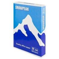 Офисная бумага Snowpeak А4 плотность 80 г/м2 класс С 500 л белая (151284)