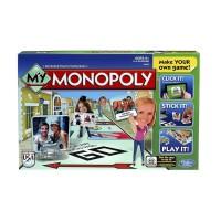 Настольная игра HASBRO MONOPOLY МОЯ МОНОПОЛИЯ (A8595)