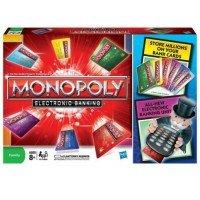 Настольная игра HASBRO MONOPOLY МОНОПОЛИЯ с банковскими карточками (37712)
