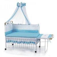 Кроватка детская Geoby TLY-612R-RBLU (8978)