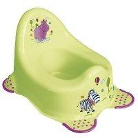 """Горшок OKT """"Hippo"""" салатовый (9927)"""