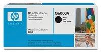 Картридж лазерный HP CLJ1600/2600 black (Q6000A)