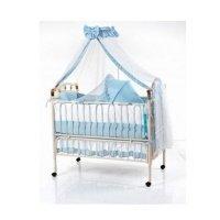 Кроватка детская Geoby TLY-632R-RBLU (9299)