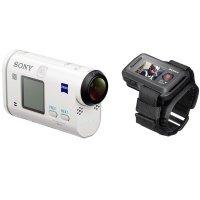 Экшн-камера SONY HDR-AS200V + пульт д/у RM-LVR2 (HDRAS200V.AU2)