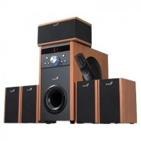 Акустическая система 5.1 Genius SW-HF 5.1 4000 Wood (31730801100)