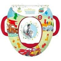 """Детская мягкая накладка на унитаз Prima-Baby """"Cars"""" (8680)"""
