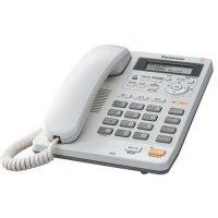 Телефон шнуровой PANASONIC KX-TS2570UAW