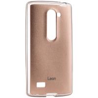 Чехол VOIA для LG Leon Jell Skin Gold