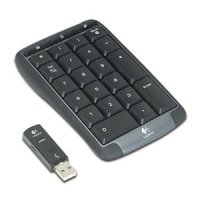 Клавиатура Logitech Cordless Number Pad USB (920-000222)