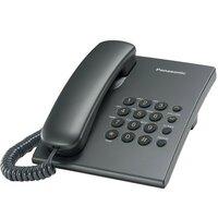 Телефон шнуровий Panasonic KX-TS2350UAT Titan