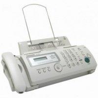 Факс Panasonic KX-FP 207 UAW White (термопленка)